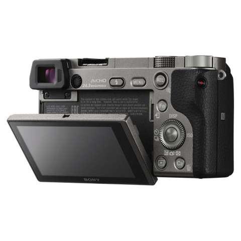 SONY Alpha 6000 Gray with 16-50mm Lens Mirrorless Camera a6000 - WiFi 24.3MP Full HD (Garansi 1th) + SanDisk 16gb + Screen Guard + Filter 40.5mm + Camera Bag + Takara ECO-193A 4