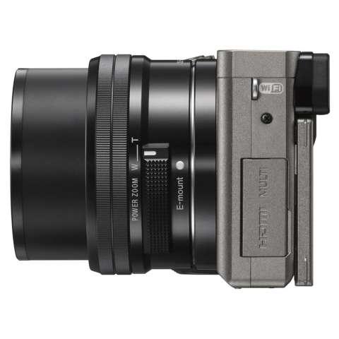 SONY Alpha 6000 Gray with 16-50mm Lens Mirrorless Camera a6000 - WiFi 24.3MP Full HD (Garansi 1th) + SanDisk 16gb + Screen Guard + Filter 40.5mm + Camera Bag + Takara ECO-193A 5