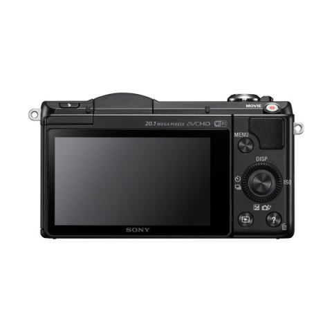 Sony Alpha A5000 Kamera Digital Mirrorless - Lensa 16-50mm - 20.1MP - Hitam + Gratis SD Card 8GB 5