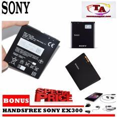 Sony Battery BA900 For Xperia J / Xperia TX /Xperia GX Original + Bonus Handsfree Sony EX300