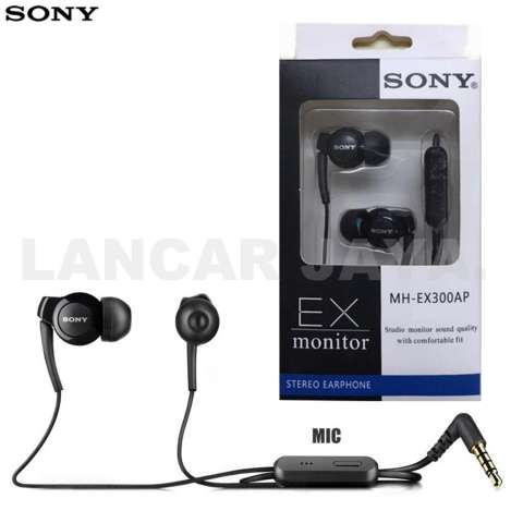 Sony Mdr Ex300ap Earphones Big Bass Hitam Daftar Harga Terlengkap Source · Home Sony Handsfree Headphone