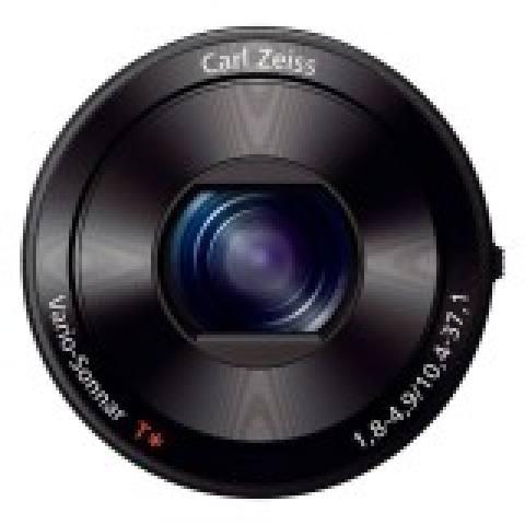 Sony QX10 Lens - 18.2 MP - 10X Optical Zoom - Hitam
