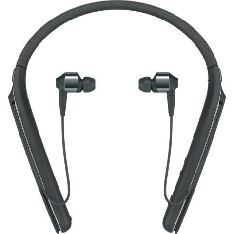 Sony Original WI-1000X / WI 1000X / WI1000X Black Wireless Noise-Canceling Headphones