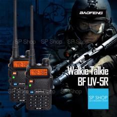 SP Baofeng Walkie Talkie HT (Handy Talkie) Radio HT Komunikasi UV5R/UV-5R 1.5
