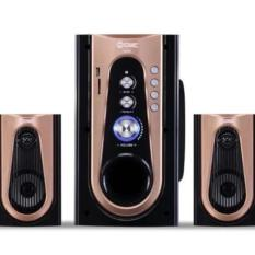 Speaker Aktif 2.1ch Bluetooth Connection Speaker Multimedia GMC 886M-Gold