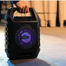 Speaker Aktif Portable Bluetooth Karaoke And Radio Dazumba DW186 FREE Mic