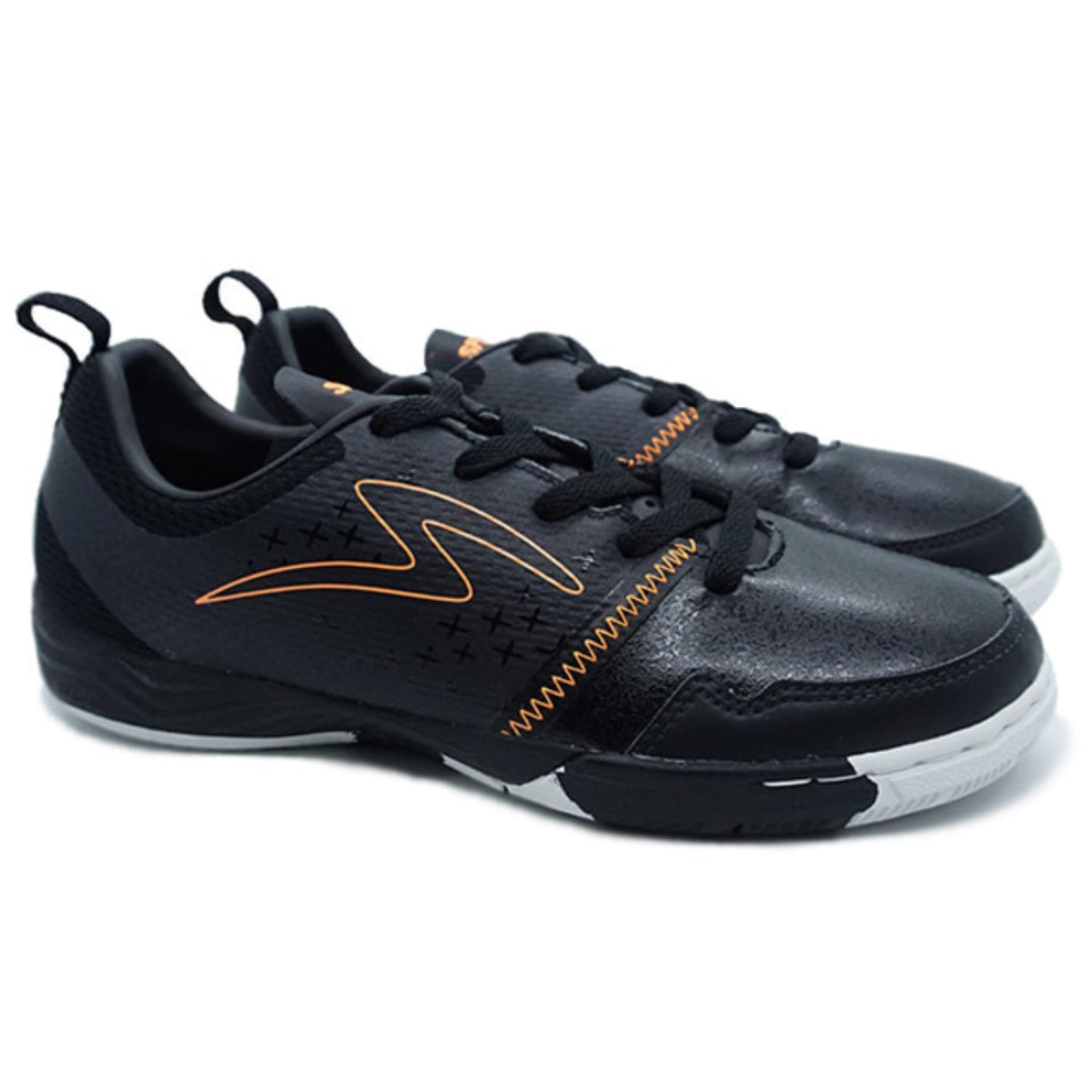 Specs Metasala Punisher Black Orange White | Sepatu Futsal