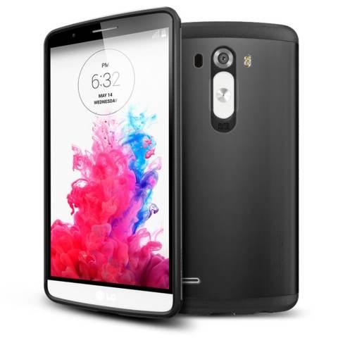 Home Spigen For LG G3 Case Slim Armor Smooth Black