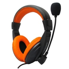 Stereo Earphone Headband Gaming Headset Microphone For PC Notebook OR