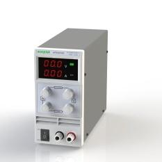 Tampilan Penghubung 3 Digit 0-30 V 10A Mini DC Power Supply Variabel Presisi Adjustable AC 220 V 50 Hz-Intl