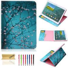 Tab S 10.5 Case (SM-T800), Dteck (TM) Kemewahan Anggun Pola Slim Leather Case Cover [Kartu/Uang Slot] Folio Flip Dompet Stand Case untuk Samsung Galaxy Tab S 10.5