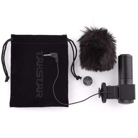 TAKSTAR SGC-698 Photography Interview MIC Microphone for Nikon Canon Camera DV Camcorder Canon 1DX 1D MARKIV 5DⅡ 5D3 7D 70D 550D 6D 60D 600D 5D 650D, 100D Nikon D300S / D4 / D35 / D5100 / D5200 / D53 5