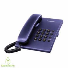 Telepon Panasonic Kabel Single Line KX-TS505 BLUE / Telepon Rumah Kantor