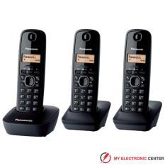 Telepon Wireless Cordless Panasonic KX-TG1613 / Telepon Wireless Rumah Kantor