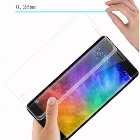 ... Gores Kaca Source · Temper Glass Xiaomi Mi Note 2 Ukuran 6 2 Inch 3D Curved Full Tempered Glass Anti