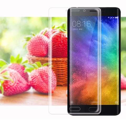Temper Glass Xiaomi Mi Note 2 Ukuran 6.2 Inch 3D Curved Full Tempered Glass Anti Gores