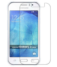Samsung Galaxy J1 Ace   Anti Gores Kaca / Tempered Glass Kaca Bening