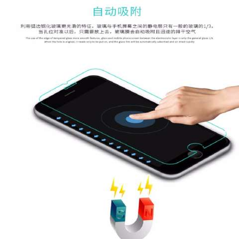 Tempered Glass Full Screen Black For Oppo F3 Plus / F3+ 9H Screen Anti Gores Kaca