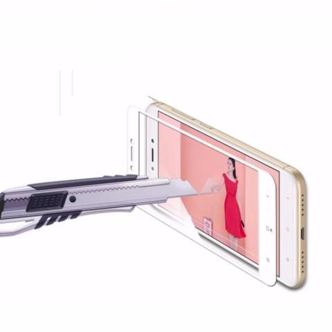 Home; Tempered Glass Full Screen Black Xiaomi Redmi 4A 9H Screen Anti Gores Kaca /