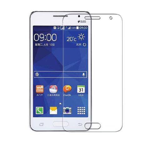 Home; Tempered Glass Samsung Galaxy Core 2 Screen Protector - Putih Transparant
