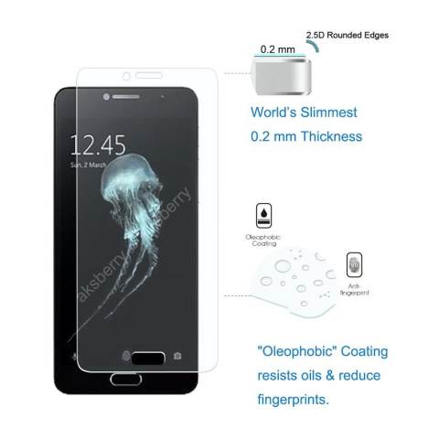 Beli Tempered Glass Screen Protector Alcatel Flash Plus 2 Explosion Proof Film Clear Harga Rp 21.500
