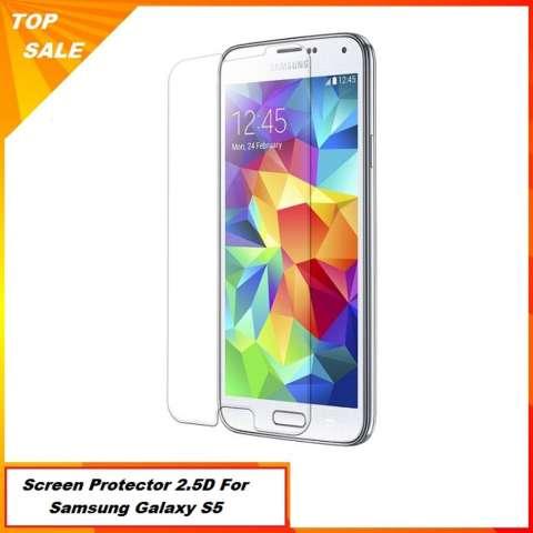 Tempered Glass Untuk Samsung Galaxy S5 G900 - 2.5D Premium Gorilla Glass