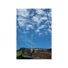 Tiang Antena TV outdoor+bracket tembok multi posisi