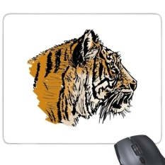 Tiger Head Close-up King Animal Wild Rectangle Non-Slip Rubber Mousepad Game Mouse Pad Gift