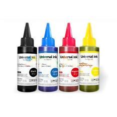 Tinta Universal ANTI BUNTU, dari Korea bisa untuk semua merk Canon,Epson,Brother,Hp Isi Ulang (1 Set 4 Warna)