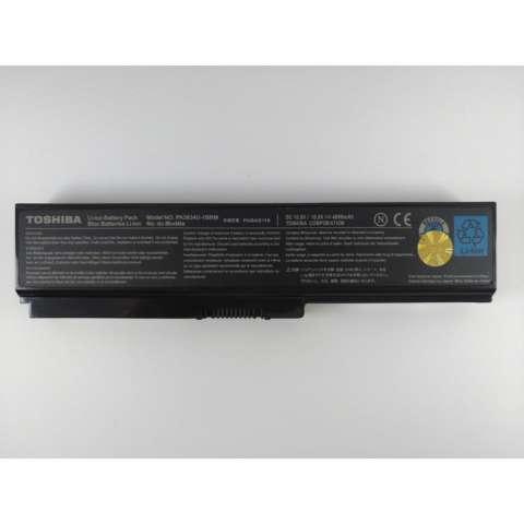 TOSHIBA Original Baterai Laptop Notebook PA3634 M300 M800 C655 A655 M300 L600 M505 3635 3816 NB510 U400 U500 C600 2