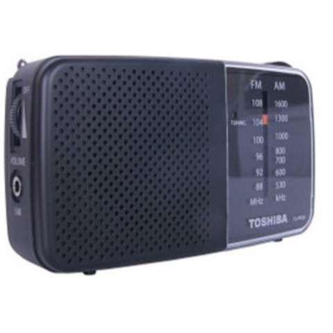 Toshiba Radio Portable TX-PR20 AM / FM-Hitam