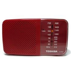 Toshiba Radio Portable TX-PR20 AM / FM - Merah