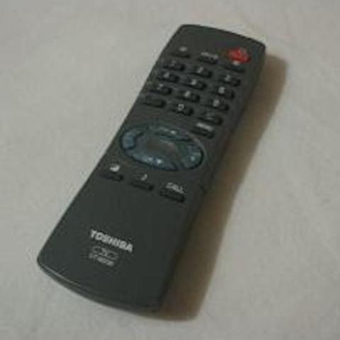 Toshiba Remote TV Tabung - Hitam