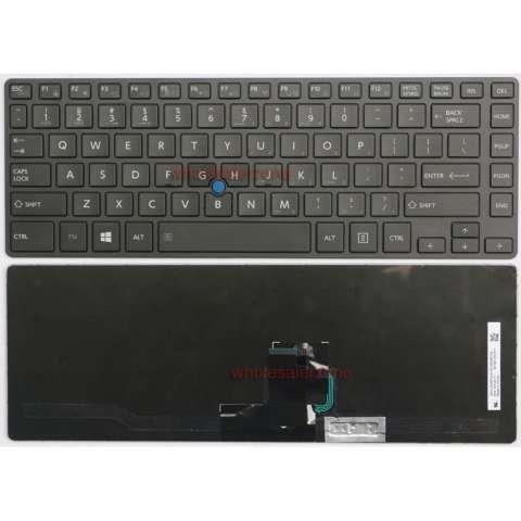 Home Toshiba Tecra Z40 AK01M AK03M AK05M Laptop Keyboard Black