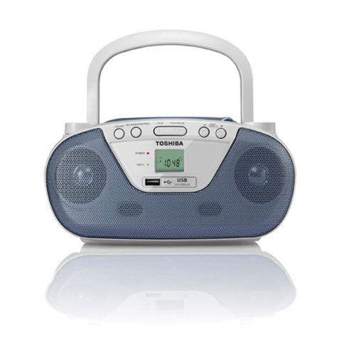 Detail Gambar Radio AM FM Toshiba TX-PR20 2Band Terbaru. Source · Toshiba TY-CRU8 Portable CD Radio Player - Blue