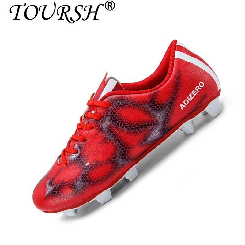 TOURSH Pria Boy Anak Sepak Bola Cleat Turf Sepak Bola Sepak Bola Sepatu . 09f5f1f7d2