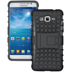 TPU + PC Back Case for Samsung Galaxy Grand Prime(SM-G530F)/Duos TV SM-G530BT (Black) - intl