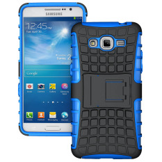 TPU + PC Back Case for Samsung Galaxy Grand Prime(SM-G530F)/Duos TV SM-G530BT (Blue) - intl
