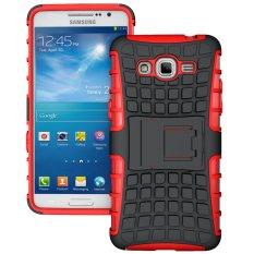 TPU + PC Case Belakang untuk Samsung GALAXY Grand Prime (SM-G530F)/Duos TV SM-G530BT (Merah) -Intl