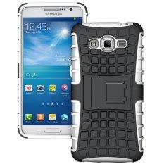 TPU + PC Case Belakang untuk Samsung GALAXY Grand Prime (SM-G530F)/Duos TV SM-G530BT (Putih) -Intl