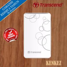 Transcend Storejet 25A3 Harddisk Eksternal 1TB 2.5Inch USB3.0 - Putih