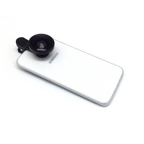 Trend's Tongsis Tongkat Narsis Monopod Holder Handphone with Switch Mini Blue + Gratis Selfie Cam Fisheye