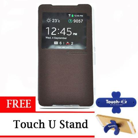 Samsung Galaxy J2 Prime Coklat Daftar Source · TUNEDESIGN FolioAir Leathercase Sony Xperia .