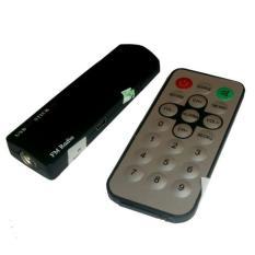 TV Tuner Gadmei USB Stick 380 for Komputer/Laptop - Hitam