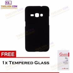 Twelven Case Slim Matte For Samsung J1 2016 - Free Tempered Glass