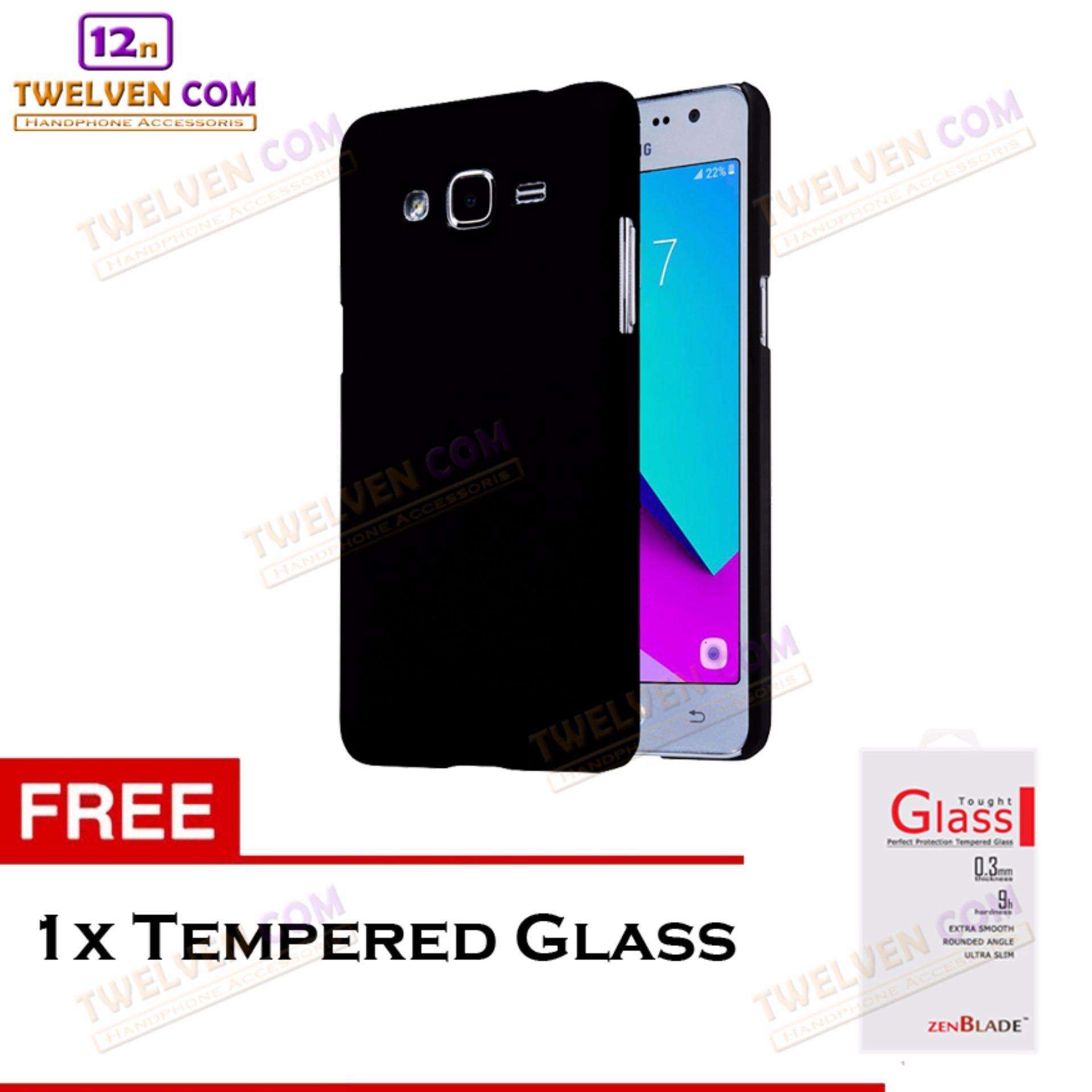 Twelven Case Slim Matte For Samsung J2 Prime / Grand Prime G530 - Free Tempered Glass