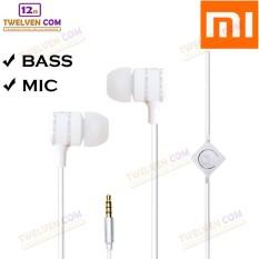 Twelven Handsfree For Xiaomi - Powerfull Bass Tuning Earphone - Putih
