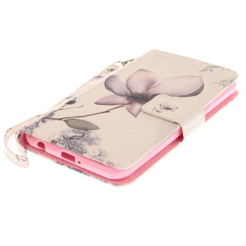 Magnetic Flip Folio TPU Soft Bumper PU Leather. Source . Source · Holder Rose Design PU Leather Flip Cover with Kickstand. Source .