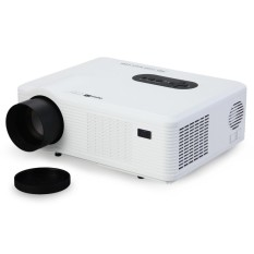 UK PLUG Excelvan CL720D LED Projector 3000 Lumens 1280 x 800 Pixels with Digital TV Interface for Home Entertainment - intl