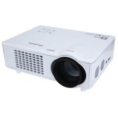 UK PLUG Youkatu T928 Home Theater LCD Projector 3000LM 1280 x 768 Pixels FHD 1080P Media Player - intl